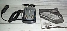 Cobra Radar Detector 11 band Xrs-747 w/charger & suction cups