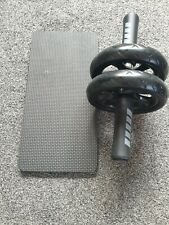 AB WHEEL ROLLER AND MAT NEW