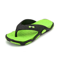 Mens Summer Beach Pool Flip Flops Beach Slippers Home Casual Sandals Flat Shoes