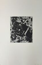 Sam Francis - Original Limited Edition Sugar Lift Aquatint Etching Print 1982