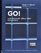 4 Microsoft Office 2007 Introductory Books and CD Word Access Excel Powerpoint