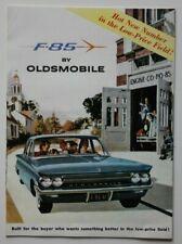 OLDSMOBILE F85 1961 dealer brochure - English - US Market