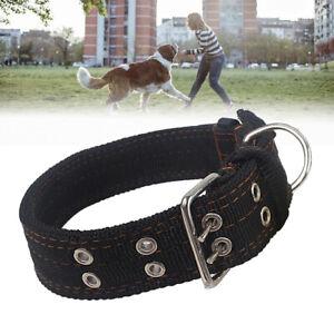 Heavy Duty Large Dog Adjustable Collar Neck Buckl Large Breed Nylon Collars Big