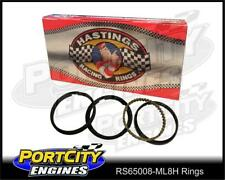 Hastings Moly Piston Ring Set Performance V8 Chevy Chrysler Ford Holden RS65008