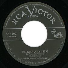 """LUIS ARCARAZ & Orch. 45: """"Bullfighters Song / Maria Elena""""  1951  RCA Victor  EX"""