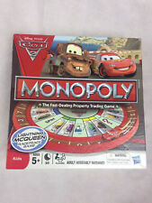 Cars 2 Monopoly, By Hasbro