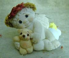 Dreamsicles By Kristin >> Cherub With Teddy>> '97