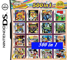 500 in 1 cartridge video game 2DS NDS DSLITE /DSi/3DS/3DS Xl Multigame card  64G