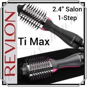 REVLON Titanium Max Edition 1-Step Volumizer-Power of a Dryer Volume Of A Styler