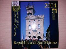 SERIE EUROS ANNÉE 2004 SAN MARIN ( MB10284 )