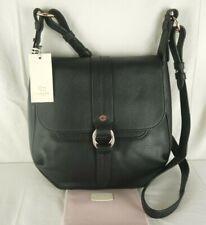 Radley Trinity Square Soft Black Leather Shoulder Across Cross Body Bag New