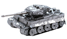 NEW! 2012 Metal Earth Silver Edition Tiger I Tank 3D Model Puzzle FASCINATIONS
