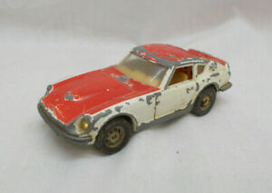 Vintage Corgi Toys Whizzwheels 396 Datsun 240Z Car - Made In Gt Britain