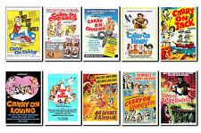 Carry on Films - Film Poster Postcard Set # 4