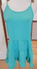 Starling Open Back Tiered Summer Tunic - Sea Green - AUS Size 12-14 - BNWT