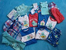 BOYS GYMBOREE SZ 12-18 MONTHS LOT SHIRT, SHORTS, SOCKS, HAT, BOOK HIPPOS AND BLU