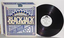 BLACKJACK LP 1979 Polydor White Label Promo Michael Bolton Bruce Kulick Vinyl