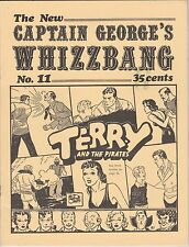 Captain George'S Whizzbang 3 1971 Issues-#11,12,13, And 1 1973 Issue-# 16