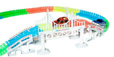 Bend A Path Toy Track Accessory - Bridge and Ramp Track Attachments