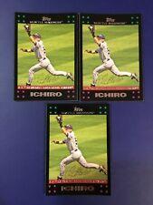 2007 Topps #313 ICHIRO SUZUKI Gold Glove Lot 3 Seattle Mariners Nice LOOK !