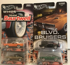 Hot Wheels  Whips Series 1969 Dodge Charger Opening Hood Lot