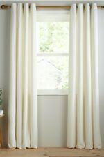 John Lewis & Partners Barathea Pair Lined Eyelet Curtains W228 x D274cm