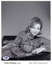 RENEE FLEMING SIGNED AUTOGRAPHED 8x10 PHOTO OPERA SOPRANO LEGEND PSA/DNA