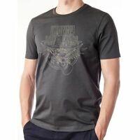 Johnny Cash Outline Eagle Guitar Official Merchandise T-Shirt M/L/XL - Neu