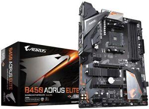 Gigabyte B450 AORUS Elite AMD AM4 ATX Gaming Motherboard