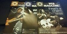 MARILLION THE WEB UK MAGAZINE 3 ISSUE 2011 FREE POSTAGE