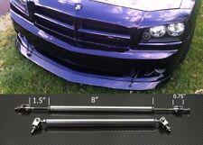 "Silver 8""-11"" Strut Shock Rod Bar for Ford Bumper Lip Diffuser Spoiler splitters"