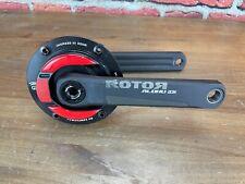 Rotor Aldhu 3D+ Power2Max NG Power Meter 170mm Crankset Bike Shimano 110 4-S