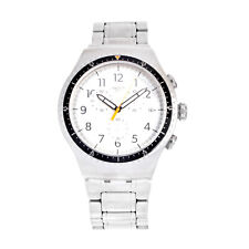 Swatch Irony YOS453G Men's 47mm Chronometer Stainless Steel Quartz Watch