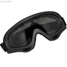 MFH Sportbrille Schneebrille Arber schwarz mit schwarzem Kunstoffrahmen
