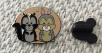 Disney Pin DLR Hidden Mickey 2019 Duo Flower And Thumper Pin Pic 134114