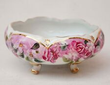 Formalities By Baum Bros Candy Dish Floral Roses Footed