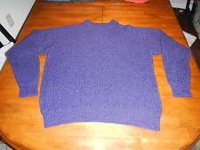 vintage playboy limited edition purple crewneck sweater mens large