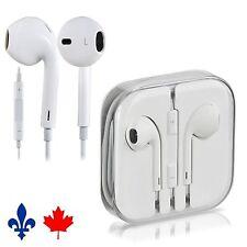 OEM Original Genuine Apple Iphone 4 5 6 Ipad Earphones Earbuds w Mic & Remote