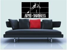 "Army Of Darkness sin bordes de azulejo mosaico Pared Poster 35 ""X 25"" Bruce Campbell"