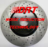 Volvo S60R V70R Performance Brake Rotors Noise Reduction Technology Front