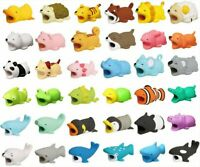 Cute Animal Bite USB Charger Cable Cord Protector For iPhone IOS Samsung Huawei