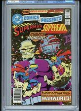DC Comics Presents #28 CGC 9.8 White Mongul App Starlin Cover