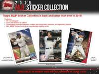 (12) 2019 Topps MLB Sticker Collection Baseball STICKER ALBUM LOT=48FreeStickers