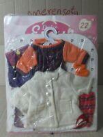 22,Vestido Muñeca Dulce Emy y similar Lesly y otras Conjunto dress traje