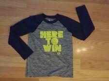 Boy Size Small Navy Blue Gap Fit Long Sleeve Athletic Shirt