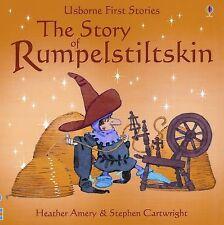 The Story of Rumpelstiltskin (Usborne First Stories)-ExLibrary