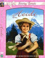 Heidi (1937) New Sealed DVD Shirley Temple