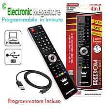 TELECOMANDO UNIVERSALE PER TV E DECODER - PROGAMM INCLUSO COME FLASH 4 MELICONI!