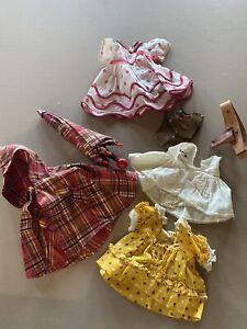 old Shirley Temple  composion clothes. No Tags.