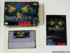 Dragon View - USA - Super Nintendo - SNes